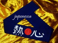"Hachimaki for otakus: this one means ""flying dragon"""